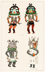 Hopi Katcinas - Piokot Turkwinu Turkwinu Mana (1895) drawn by the native people from the book of Jesse Walter Fewkes (1850–1930). Digitally enhanced from the original plate. (Free Public Domain Illustrations by rawpixel) Tags: 1895 tags amerian american ancient anthropology antique archeology art artwork aztec bright cc0 cherokee chromolithograph civilization colorful drawing ethnic ethnicity ethnology fewkes folk god historical history hopi hopikatcinas illustration indian indigenous jesse jessewalterfewkes kachina katchina katchinas katcinas lithograph mana mythology native nativeamerican northamerica northamerican old painting people piokot piokotturkwinuturkwinumana plate print publicdomain religious retro social spirit tribe turkwinu vintage walter