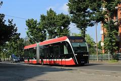 Van Hool Exqui.City 18 T (Jason De Souza .) Tags: vanhool van hool exquicity exqui city 18 t trolleybus trolley bus electric electrique parma parme tep 5106 pr 106 pr106 5 via chiari ebus e italy
