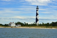 Cape Lookout Lighthouse, NC (hatchski) Tags: lighthouse light lighthouses capelookout cape lookout coast beach water outerbanks outer banks nc northcarolina north carolina ocean