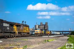 UP Columbus Sub. at Fremont, NE (Mo-Pump) Tags: train railroad railfan railroader railway railroading locomotive