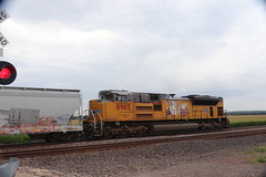 58242 (richiekennedy56) Tags: unionpacific sd70ace up8985 jeffersoncountyks kansas perry railphotos unitedstates usa