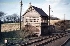 151 Tebay No3 SB 20-01-62 (John Boyes)  157 (Ernies Railway Archive) Tags: ner lner stainmoreroute tebaystation