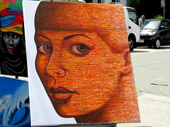 The Look (knightbefore_99) Tags: art public cool great commercialdrive car free day crap italian italy eastvan vancouver 2018 sol sun face look eyes