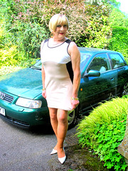 Bobbybdycncar-003 (fionaxxcd) Tags: cd tgts ladyboy drag femmeboi mtf m2f transvestite tranny trannie crossdresser crossdressing xdresser xdressing bodycondress stilettos bust nipples earrings bangles tights pantyhose audi