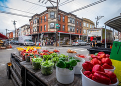 9th and Carpenter (Dalliance with Light (Andy Farmer)) Tags: vendor city italianmarket vegetables philly philadelphia 9thst street pennsylvania unitedstates us
