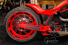 Kreater Custom Bloody Mess - Details (@Gerardo Rico) Tags: motorcycle show spring toronto mississauga international centre bagger chopper hardtail bike bikes bikelife motorcycleculture thesix canon gdorico photography kreater custom bloody mess details