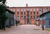 old textile factory (rafasmm) Tags: old textile łódź lodz poland polska europe city citycenter building factory manufactory xix nikonf90x nikkor 50 18 afd fujifilm superia 400 asa analog negativ film historic color