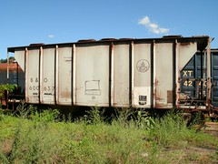 BO 600637 (Proto-photos) Tags: bo pullmanstandard vintage old coveredhopper baltimoreandohio railroad train freightcar railcar rollingstock westvirginia hc23 c111 600637 40ft 2bay ridgeley