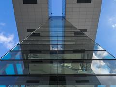 Kranhaus Köln 03 (Torsten schlüter) Tags: deutschland köln kranhaus himmel spiegellung olympus 2017 12mm architektur gebäude glas fenster linien
