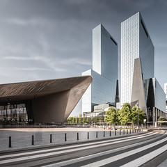 Centraal Station (Robert_Franz) Tags: architecture rotterdam modern exterior fine art longexposure urban city building