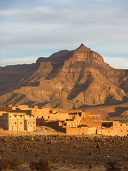 A Berber stronghold (Tina Westcott) Tags: morocco berber sedimentary layers