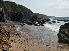 Marloes Beach (World of Izon) Tags: waves filmlocation pembrokeshire marloes sands