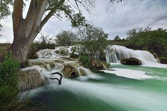 Waterfalls in Summer (Peideluo) Tags: water ruidera spain nature landscape longexposure green tree cascada sedas agua cielo árbol paisaje roca parque