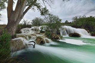 Waterfalls in Summer