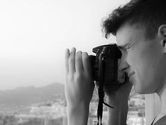 Focus. (valerie.toalson) Tags: eric mykonos blackwhite greece