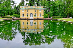 Catherine Palace  Park (meren34) Tags: stpetersburg russia pushkin palace reflection garden park lake
