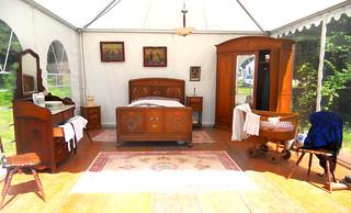 une chambre à coucher Alsacienne !
