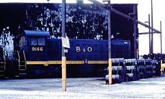 Baltimore & Ohio 9146 (CPShips) Tags: bo alco s2 pittsburgh 1978