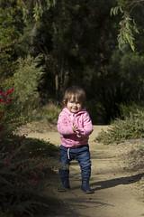 exploring (louisa_catlover) Tags: child daughter family portrait tabitha garden outdoor walking karwarra dandenongs melbourne australia winter botanicgarden july 2018 windy