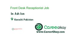 Front Desk Receptionist (CareerOkay) Tags: front desk receptionist jobs pakistan career okay in karachi lahore