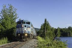 Job 1 at Squaw Brook (Thomas Coulombe) Tags: centralmainequebec cmq job1 emdsd402f sd402f gmdsd402f freighttrain train codelines squawbrook moosehead maine mooseheadsub