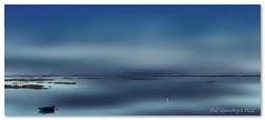 In the wake of the dulse hunter! (Oul Gundog) Tags: dulse gathering boats water sun sea fishing codown ballywalter northern ireland ulster uk wake sailing co down seaweed