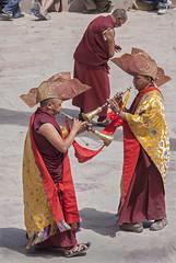 (bag_lady) Tags: musicalmonks hemismonastery hemissummerfestival2011 ladakh india buddhism festival music traditional tsechu