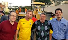 Início das Obras - Rua Frederico Muller