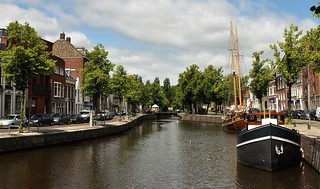Canal view in Groningen