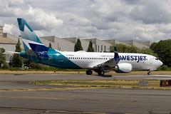 7005 1A408 60516 C-GZSG 737-8 West Jet (737 MAX Production) Tags: b737 boeing737max boeing boeing737 boeing7378 boeing7378max westjet 70051a40860516cgzsg7378westjet