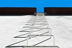 steps to the sky (TeRo.A) Tags: abstract abstrakti sky taivas step portaat wall seinä stair blue black sininen musta white valkoinen shadow varjo valo light mäntyluoto pori perspektiivi perspective
