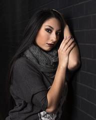 Marissa Lopez downtown (Mitch Tillison Photography) Tags: beautiful stunning gorgeous amazing lovely portrait urban highspeedsynch hss strobe flashpoint mitchtillison grunge dramatic lighting pose tamron 70200 d5 nikon 600 flickrsbest
