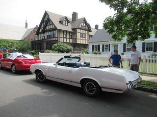 Oldsmobile Cutlass Convertible, 2018 Independence Day Parade, Montclair, NJ