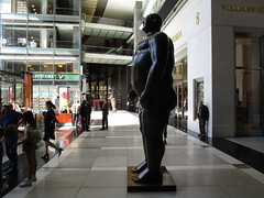 Tall Gent Man Sculpture by Botero 2018 NYC 3771 (Brechtbug) Tags: man sculpture by fernando botero colombian artist metal bronze nude male art sculptures front glassed lobby time warner building columbus circle nyc thinker thinking wings nudes architecture statues statue gargoyle gargoyles new york city broadway store shopping center mall heavy zaftig puffy hefty big boned sturdy tall gent gentleman