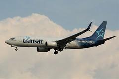 Here is Air Transat C-GTQG (shumi2008) Tags: airtransat airtransatb737 boeing738 b737800 toronto torontopearson pearsonairport yyz cyyz