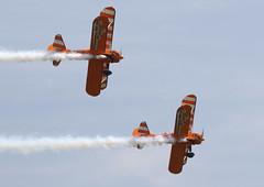 Duxford_May2018_Wingwalkers_05 (andys1616) Tags: aerosuperbatics wingwalkers boeing stearman duxfordairfestival duxford cambridgeshire may 2018