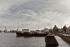 A Ship City (kanyck (Thanx 4 0.5M views!)) Tags: 1835 d7200 nikon sigma saintpeterburg sky clouds city water ship