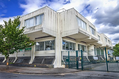 Dunbar House. (Photator) Tags: brutalist brutalism brutalistarchitecture concrete dunbarhouse newmalden surrey england uk hdr buildings architecture