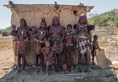 Some of the Himba people we meet in their settlement - 'far off the beaten track' (Nanooki ʕ•́ᴥ•̀ʔっ) Tags: africa himba namibia ©suelambertlrpscpagb kuneneregion na people portrait tribe tribespeople