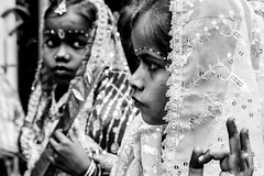 Maha Shivaratri-DSC_8656 (thomschphotography3) Tags: india asia varanasi benares girls children blackandwhite monochrome portrait mahashivaratri festival hindu hinduism religion religious streetphotography