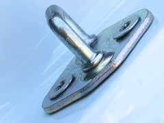 Camry Latch (woody329) Tags: macromondays transporation canon sx50hr sx50 canon500d metal latch camry toyota