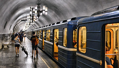 moscow underground (poludziber1) Tags: street streetphotography summer urban underground subway moscow moskva russia people travel train