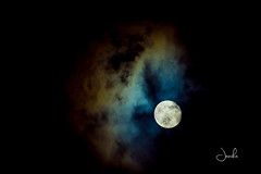 The Full Moon Day (Jansha Crazy) Tags: moon photography photooftheday inspired black white nature fullmoon night beauty