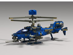 shark v5 chopper1 (demitriusgaouette9991) Tags: lego military army ldd helicopter gunship future powerful flying aircraft