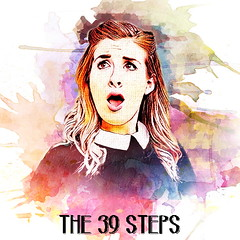 Character Profile Pictures (AmyHuntingPublicity) Tags: the 39 steps theatre marlowe acting portraits digital painting