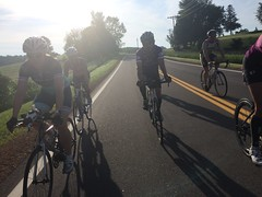Wheely fun group ride!