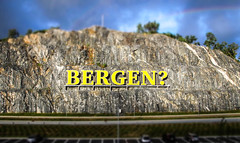 BERGEN? (Andy.Gocher) Tags: an andygocher canon100d canon100dsigma18250 europe norway bergen airport cliff