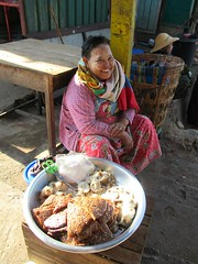 Pastry Vendor (D-Stanley) Tags: pastry kyaiktiyo goldenrock myanmar burma