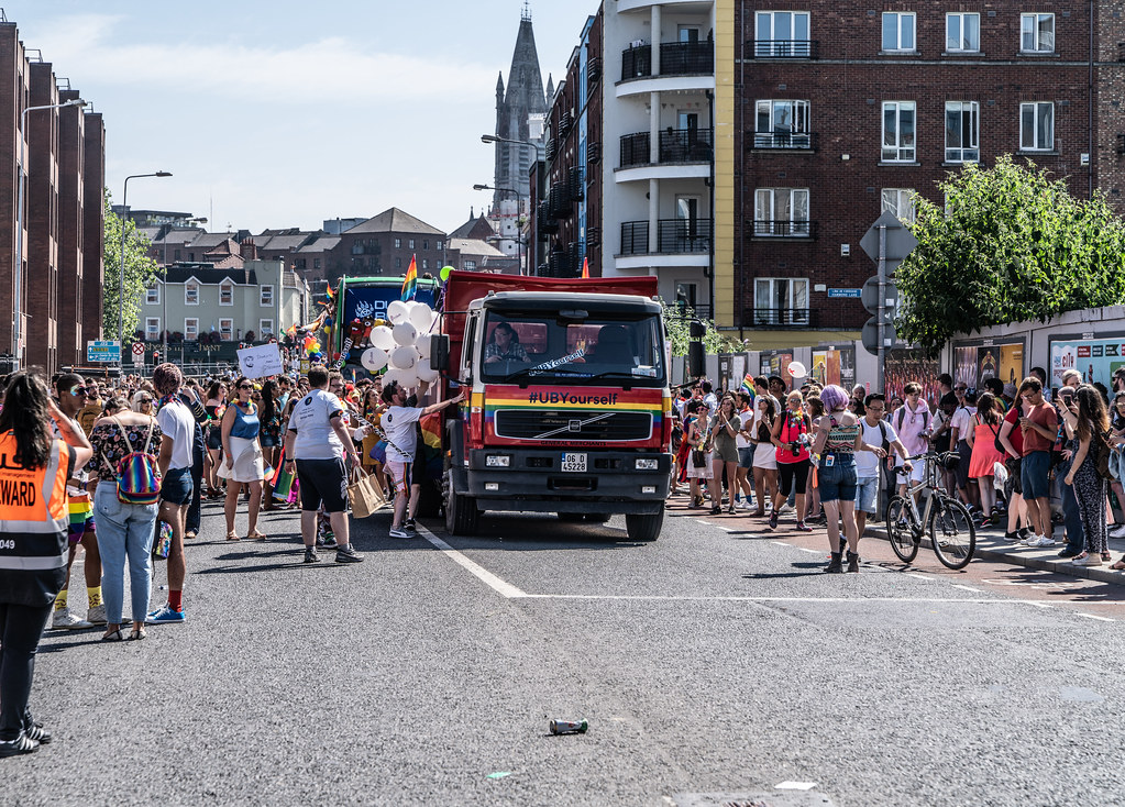 ABOUT SIXTY THOUSAND TOOK PART IN THE DUBLIN LGBTI+ PARADE TODAY[ SATURDAY 30 JUNE 2018] X-100253