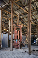 Wool Press (oz_lightning) Tags: australia canon6d canonef1635mmf4lis dunlopstation nsw westerndivision agriculture building decay disused industrial interior outback rural woolshed louth newsouthwales aus